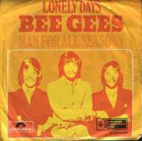 Lonely Days / Man For All Seasons Bee Gees D uvez