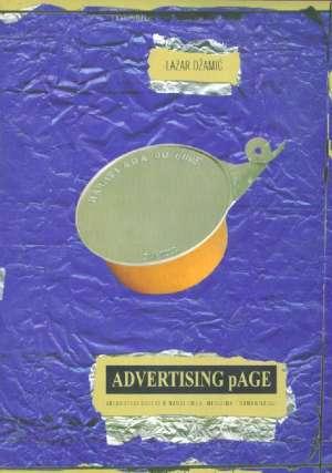 Advertising page Lazar Džamić meki uvez