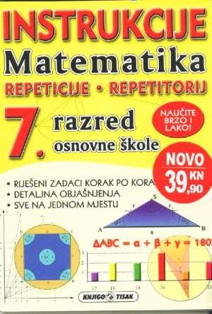 Ivana čurkov - Instrukcije matematika 7. razred osnovne škole