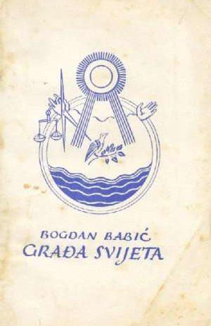 Bogdan Babić - Građa svijeta pučka kemija