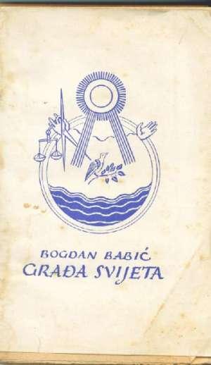Građa svijeta pučka kemija Bogdan Babić meki uvez