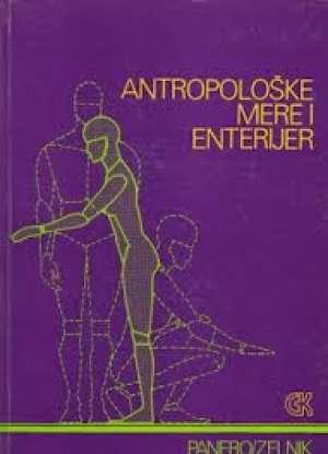 Antropološke mere i enterier Panero, J. Zelnik tvrdi uvez