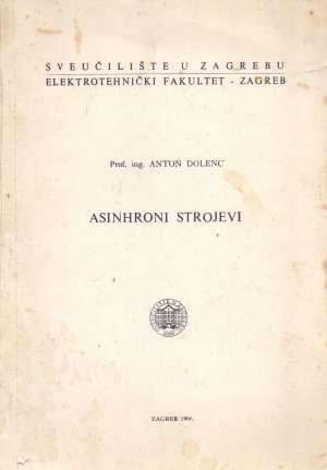 Asinhroni strojevi Anton Dolenc meki uvez