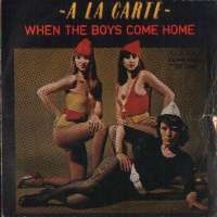 When The Boys Come Home / Price Of Love A La Carte D uvez