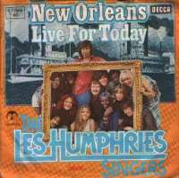 New Orleans/ Live For Today Les Humphries Singers D uvez