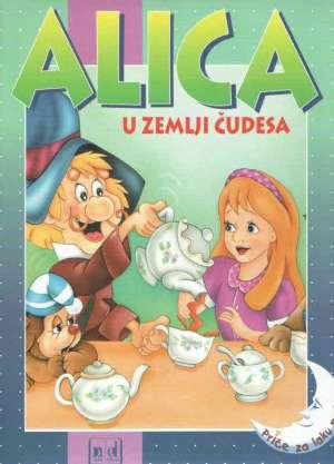 Alica u zemlji čudesa - slikovnica Ines Knezić/prevela tvrdi uvez