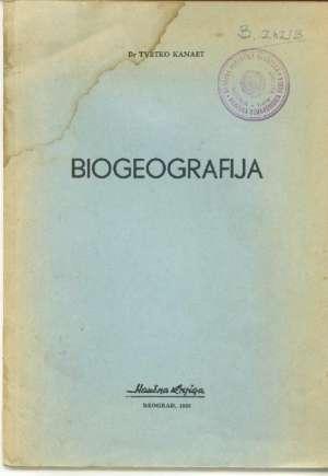 Biogeografija Tvrtko Kanaet meki uvez