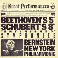 Gramofonska ploča Beethoven / Schubert Symphonie Nr. 5 C-moll Op. 67 /  Symphony No. 8 In B Minor, Unfinished CBS 60106, stanje ploče je 8/10