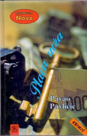 Plava ruža Pavličić Pavao tvrdi uvez