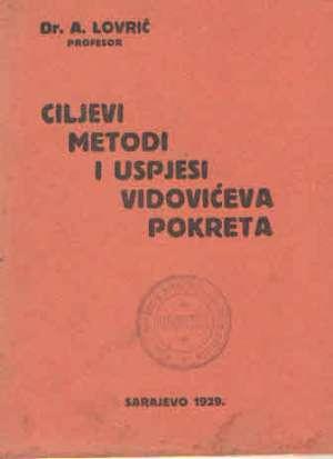 A. Lovrić - Ciljevi, metodi i uspjesi vidovećiva pokreta