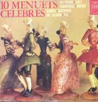 Gramofonska ploča Bečki Orkestar / Pariški Orkestar / Komorni Orkestar / Versajski Komorni Orkestar 10 Slavnih Menueta LSVG 70458, stanje ploče je 10/10