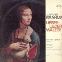 Gramofonska ploča Johannes Brahms Liebes-Lieder Walzer SUA 10758, stanje ploče je 10/10