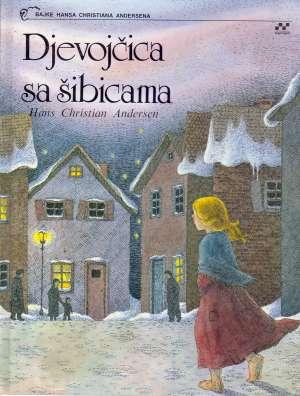 Djevojčica sa šibicama Hans Christian Andersen tvrdi uvez