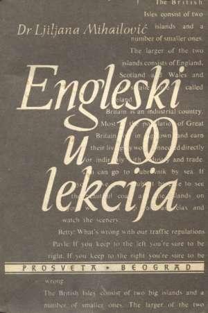 Engleski u 100 lekcija Ljiljana Mihailović meki uvez