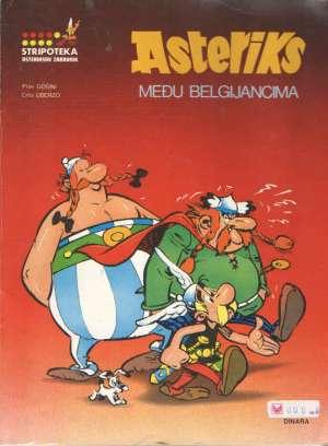 Crta /uderzo, Piše/goscinny - Asteriks među belgijancima - asteriksov zabavnik