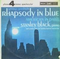 Gramofonska ploča Londonski Festivalski Orkestar Rapsodija U Plavom / Amerikanac U Parizu LFO-LPSV-DC-371, stanje ploče je 9/10
