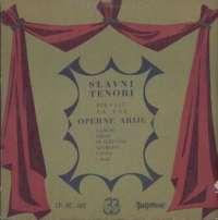 Gramofonska ploča Slavni Tenori Operne Arije LP-RC 185, stanje ploče je 10/10
