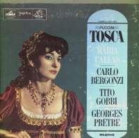 Gramofonska ploča Zbor Théâtre National De L'Opéra Paris / Orkestar Pariškog Konzervatorijskog Društva Tosca LPHMV-V-304/5, stanje ploče je 10/10