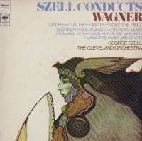 Gramofonska ploča The Cleveland Orchestra Szell Conducts Wagner: Highlights From The Ring CBS 61114, stanje ploče je 10/10