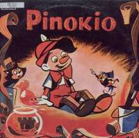 Gramofonska ploča C. Collodi Pinokio LPY-36, stanje ploče je 9/10