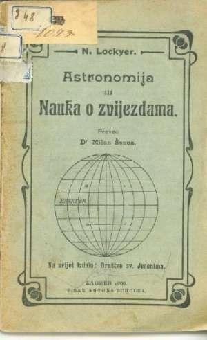 N. Lockyer - Astronomija ili nauka o zvijezdama