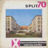 Gramofonska ploča Razni Izvođači (Split 70 - X Internacionalni Festival Zabavne Muzike) Split 70 - X Internacionalni Festival Zabavne Muzike LPYV S 833, stanje ploče je 9/10