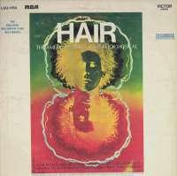 Gramofonska ploča Hair -  The American Tribal Love-Rock Musical (The Original Broadway Cast Recording) LSO-1150, stanje ploče je 9/10