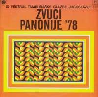 Gramofonska ploča Razni Izvođači Zvuci Panonije 78 LD 0539, stanje ploče je 9/10