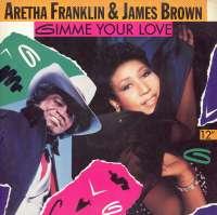Gramofonska ploča Aretha Franklin & James Brown Gimme Your Love 612 682, stanje ploče je 10/10