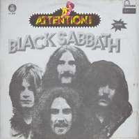 Gramofonska ploča Black Sabbath Attention! Black Sabbath! LP 5551, stanje ploče je 8/10