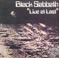 Gramofonska ploča Black Sabbath Live At Last... LPS 1019, stanje ploče je 10/10