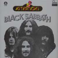 Gramofonska ploča Black Sabbath Attention! Black Sabbath! LP 5551, stanje ploče je 9/10