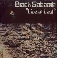 Gramofonska ploča Black Sabbath Live At Last... BS001, stanje ploče je 9/10