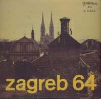 Gramofonska ploča Zagreb 64 Zagreb 64 LPY 636, stanje ploče je 10/10