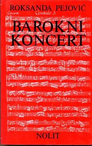 Roksanda Pejović - Barokni koncert
