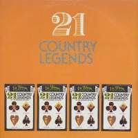 Gramofonska ploča 21 Country Legends 21 Country Legends 220906, stanje ploče je 9/10