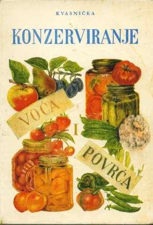 Konzerviranje voća i povrća Vjeka Kvasnička tvrdi uvez
