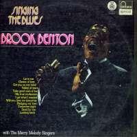Gramofonska ploča Brook Benton With Merry Melody Singers Singing The Blues LP 5818, stanje ploče je 10/10