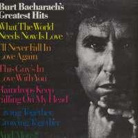 Gramofonska ploča Burt Bacharach Burt Bacharach's Greatest Hits 2222671, stanje ploče je 10/10