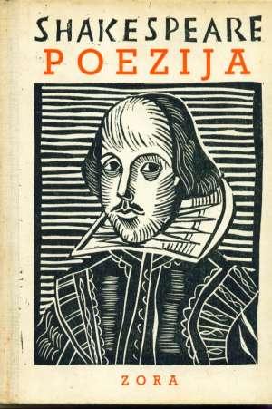 Poezija Shakespeare William tvrdi uvez