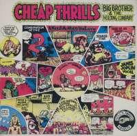 Gramofonska ploča Big Brother & The Holding Company Cheap Thrills CBS 32004, stanje ploče je 9/10