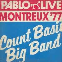 Gramofonska ploča Count Basie Big Band Montreux 77 LP 4405, stanje ploče je 10/10