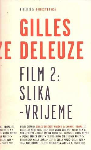 Film 2: slika - vrijeme Gilles Deleuze meki uvez