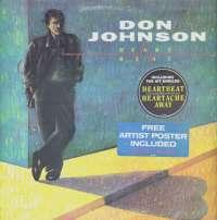 Gramofonska ploča Don Johnson Heartbeat EPC 450103 1, stanje ploče je 10/10