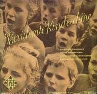Gramofonska ploča Berhümte Kinderchöre Berhümte Kinderchöre LA 6087, stanje ploče je 10/10
