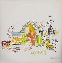 Gramofonska ploča Crosby, Stills, Nash & Young So Far ATL 50 023, stanje ploče je 10/10