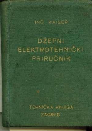Džepni elektrotehnički priručnik Kaiser tvrdi uvez