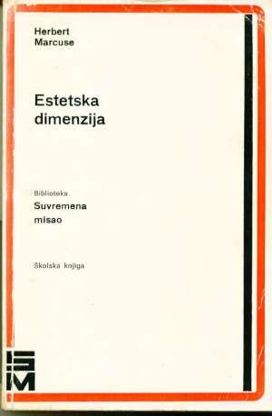 Marcuse Herbert Estetska Dimenzija meki uvez