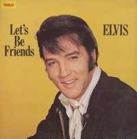 Gramofonska ploča Elvis Presley Let's Be Friends INTS 1103, stanje ploče je 10/10