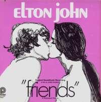 Gramofonska ploča Elton John Friends (Original Soundtrack Recording) SPC 3598, stanje ploče je 10/10